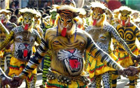Hulivesha, Tiger Dance Festival in Mangalore
